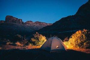 Terrain de Camping - Hébergement à Percé - Tourisme Gaspésie